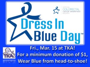 Tka Serves Via Dress In Blue Day The King S Academy