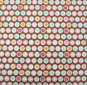F - brown hexagons