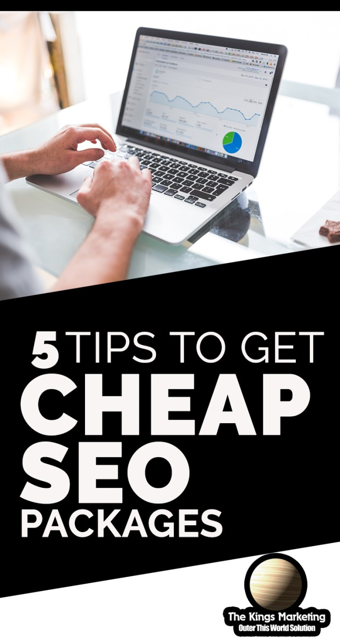 5 Tips to Get Cheap SEO Packages