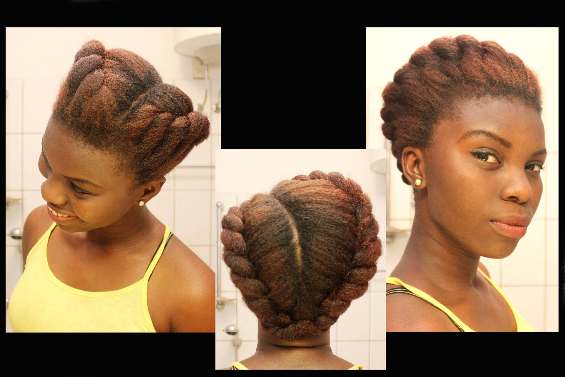tuck and roll hair styles hairspiration esther tom the and i 7065