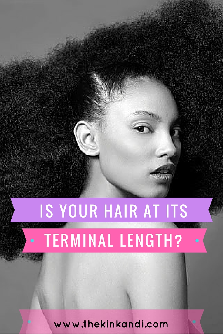 is your hair at its terminal length