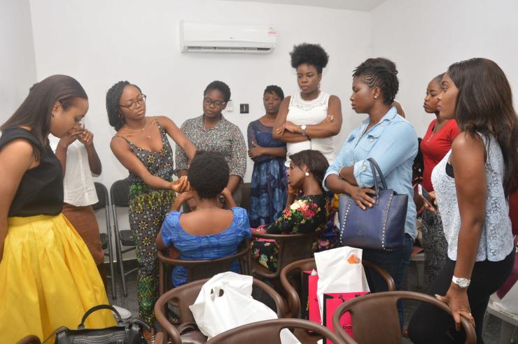 And Naija Girl Next Door held it down with the 'How To Twits' Workshop