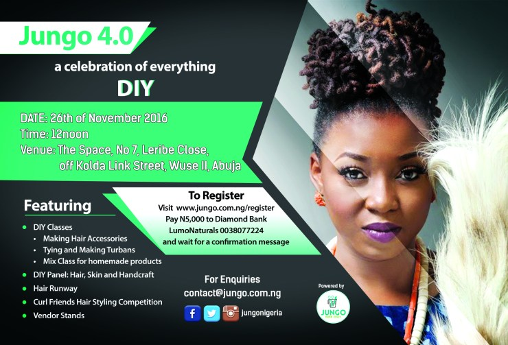 Natural hair events in Abuja- Jungo 4.0