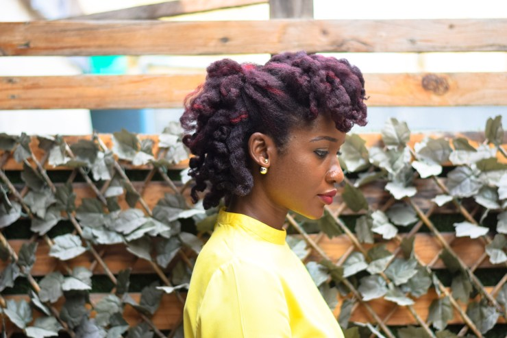 Twist and Curl on 4C Natural Hair with SheaMoisture Curl Enhancing Smoothie