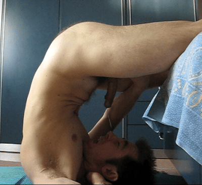 cock your own husband suck