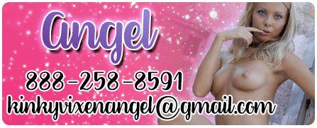 The BEST Phone Sex: Your Wicked Angel 888-258-8591