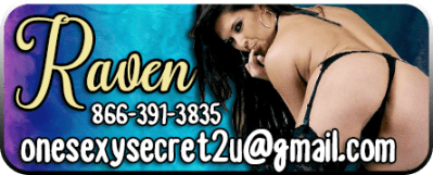 Big Ass MILF Phone Sex Raven 866-391-3835