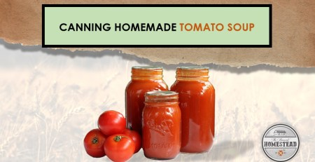 Canning Homemade Tomato Soup