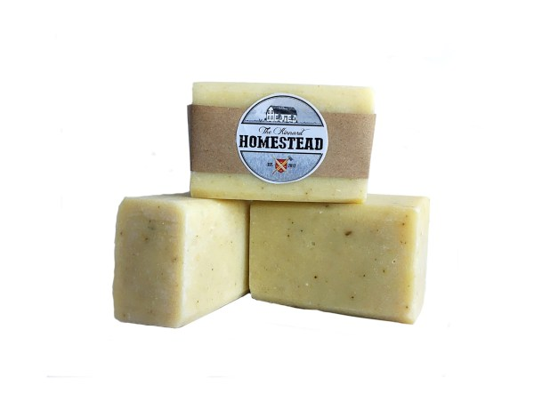 Handcrafted-Soaps-goat-milk-and-honey-shampoo-bar