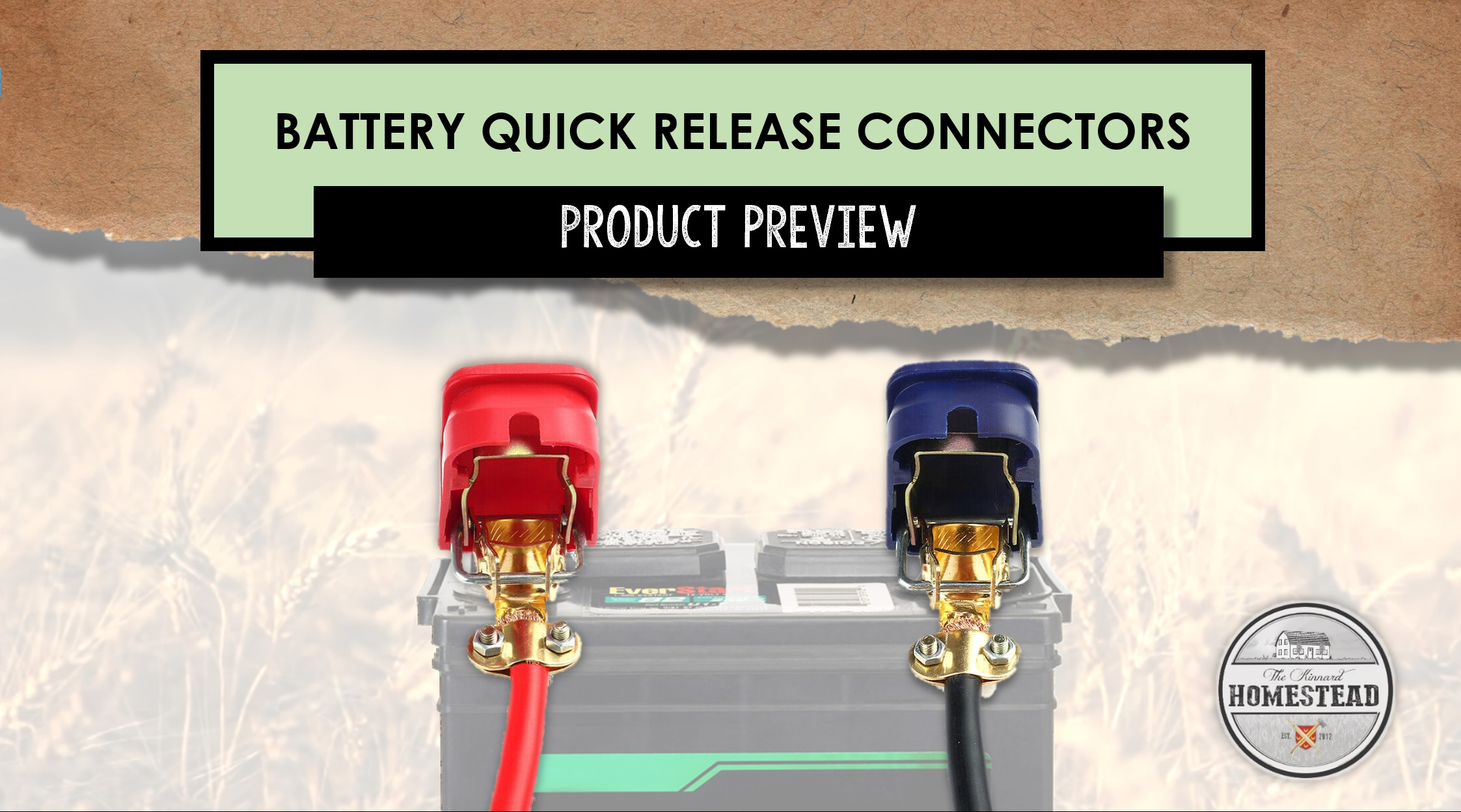Battery Quick Release Connectors | Product Preview