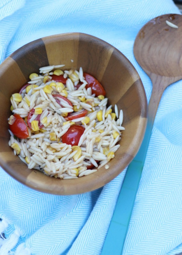 The Kissing Booth Blog - Homemade pasta salad for 4th of july party