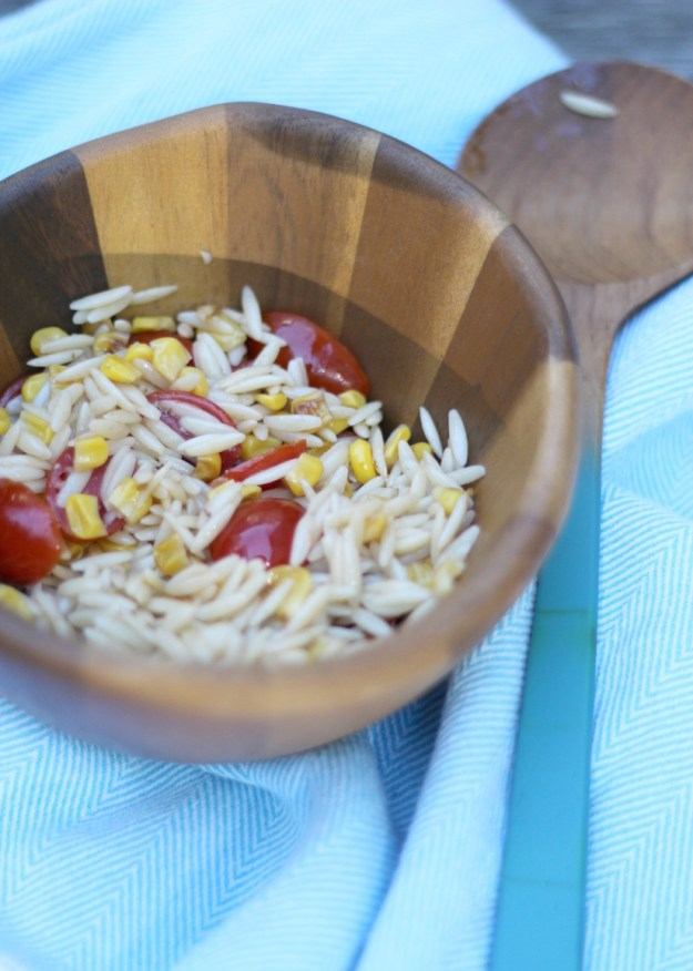 The Kissing Booth Blog - homemade pasta salad