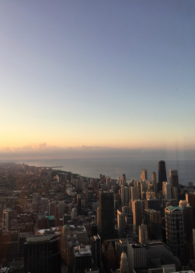 View from the 99th Floor of the Willis Tower, Chicago