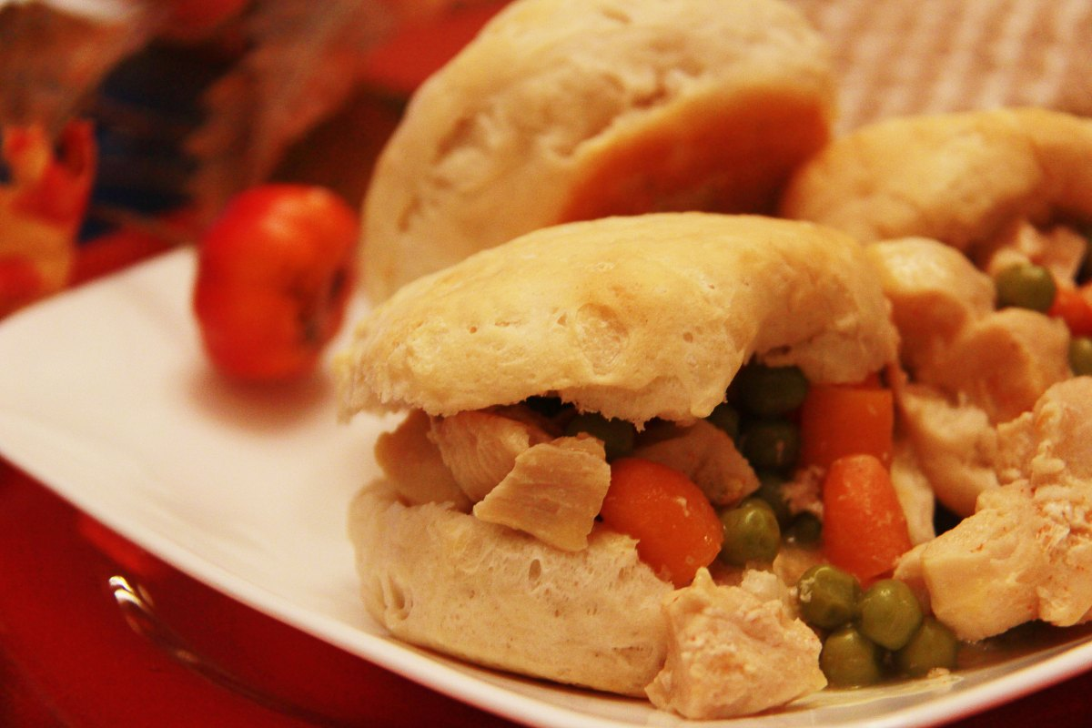 Slow Cooker Southern Chicken and Biscuits - The Kitchen Gent