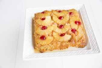 Pineapple Upside Down Bread Pudding   The Kitchen Magpie