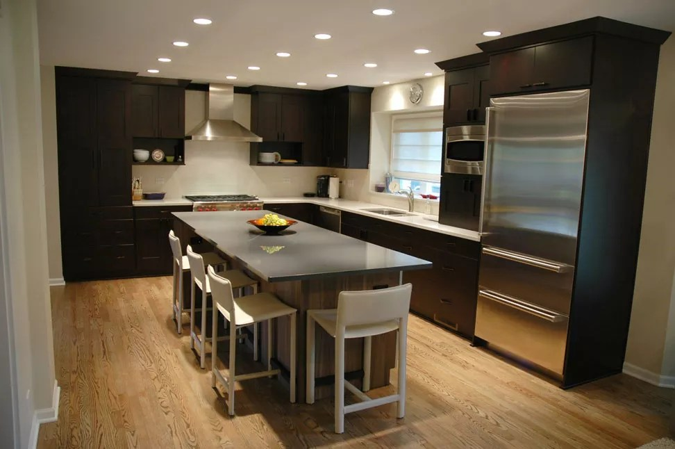Remodeling A Small Traditional Kitchen To A Modern Design