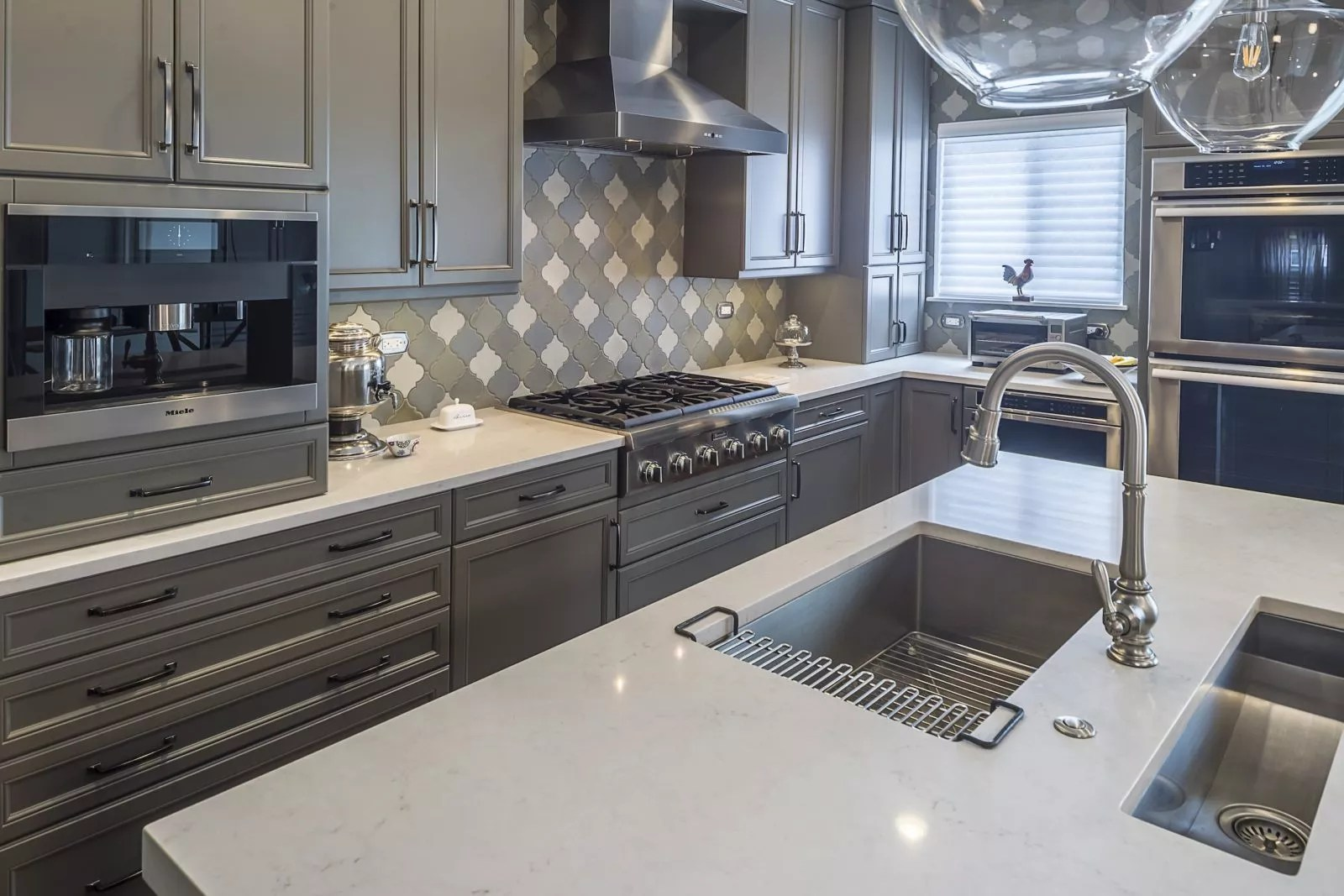 Chefs Kitchen In Shades Of Grey Kitchen Master
