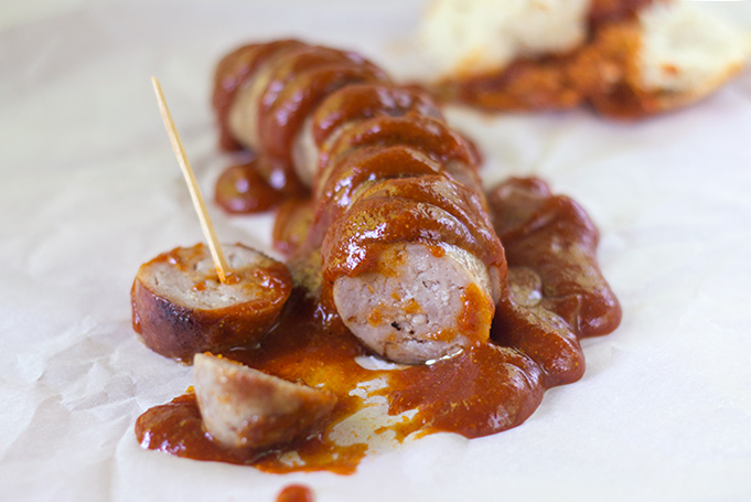 Homemade Currywurst - The Kitchen Maus