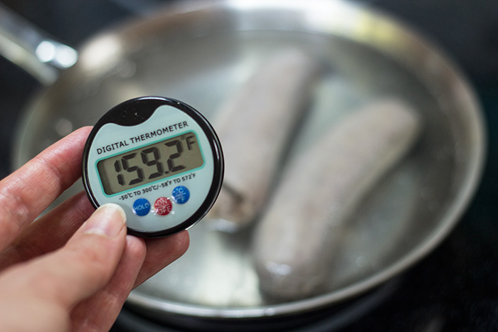 Pan Fried Bratwurst - The Kitchen Maus