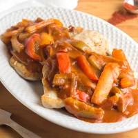 Spicy Paprika Sauce (Zigeunersoße)