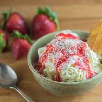 Spaghetti Ice Cream (Spaghettieis)