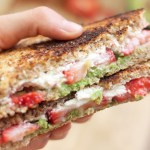 Strawberry, Avocado, and Goat Cheese Grilled Cheese