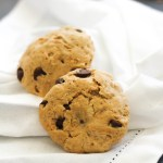 Single Serving Peanut Butter Chocolate Chip Cookie