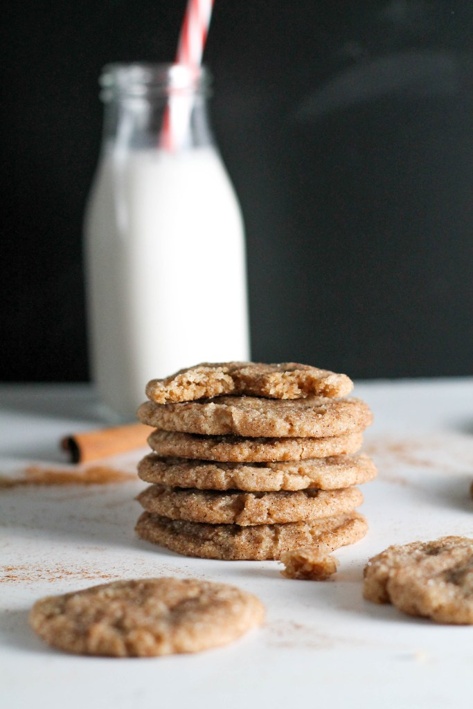 Vegan Chai Spiced Snickerdoodle Cookies