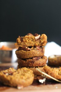 These one bowl pumpkin streusel muffins are vegan, gluten free, healthy, and absolutely delicious. They're naturally sweet, filled with flavor, and come together in under an hour. Pair it with some almond butter for a great snack or crumble it up in some yogurt.