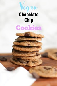 These vegan chocolate chip cookies are soft, chewy, and absolute perfection. They make for the perfect dessert or sweet treat, and satisfy all your cravings.