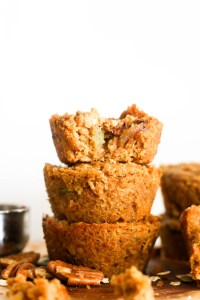 These superfood breakfast muffins are vegan, gluten free, refined sugar free, and delicious! Made with wholesome, natural ingredients and packed with nutrients, they're the perfect snack.