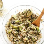 Rosemary Brussels Sprout Quinoa Salad (V&GF)