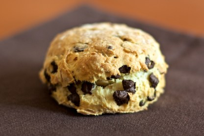 Coconut and chocolate scones