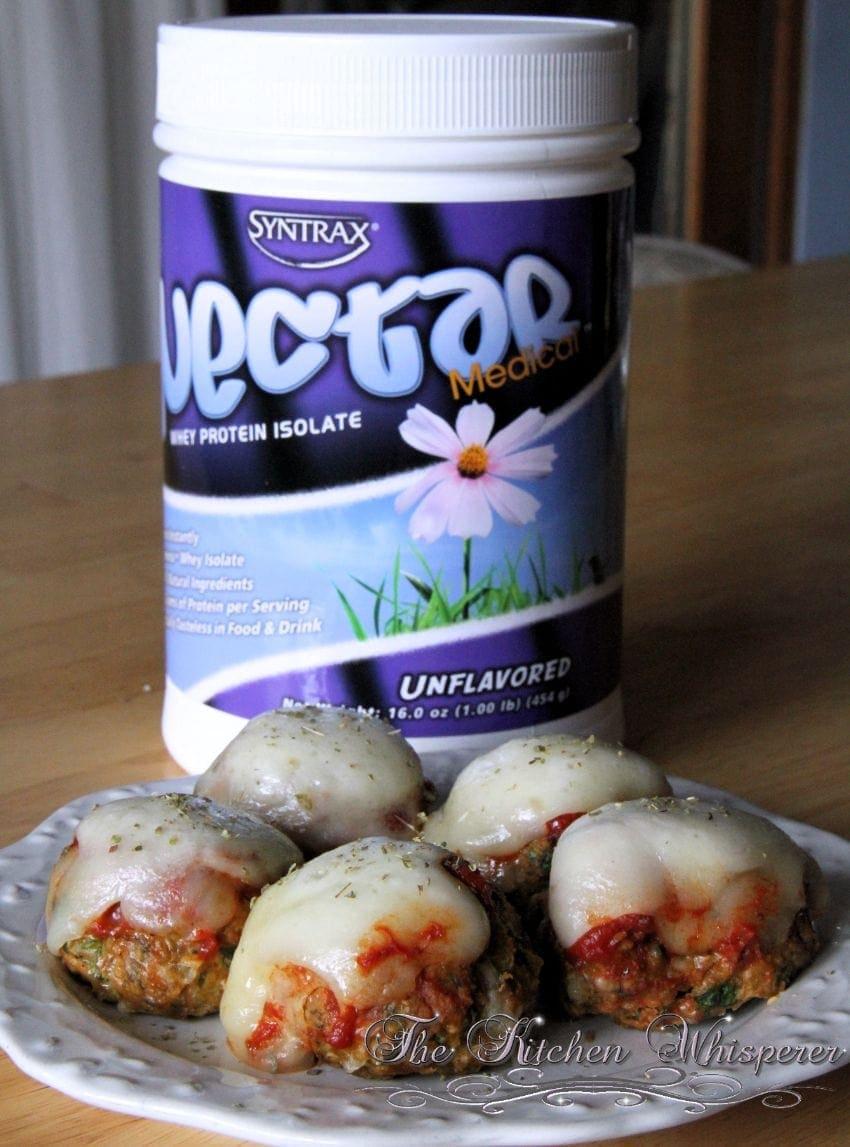 Protein Chicken Parm Florentine Meatballs3