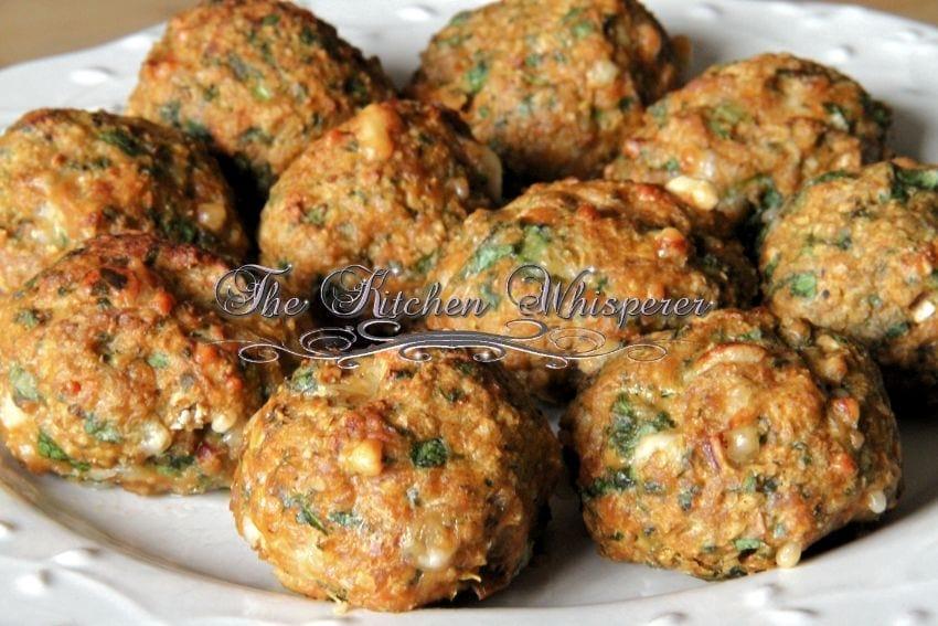 Protein Chicken Parm Florentine Meatballs6