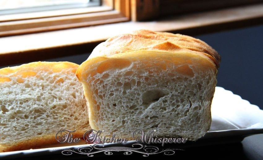 No Knead Crusty White Sandwich Bread7