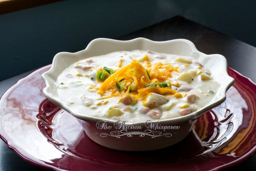Creamy Ham Potato Corn Chowder2