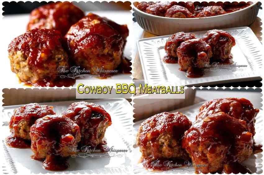 Cowboy BBQ Meatballscollage1