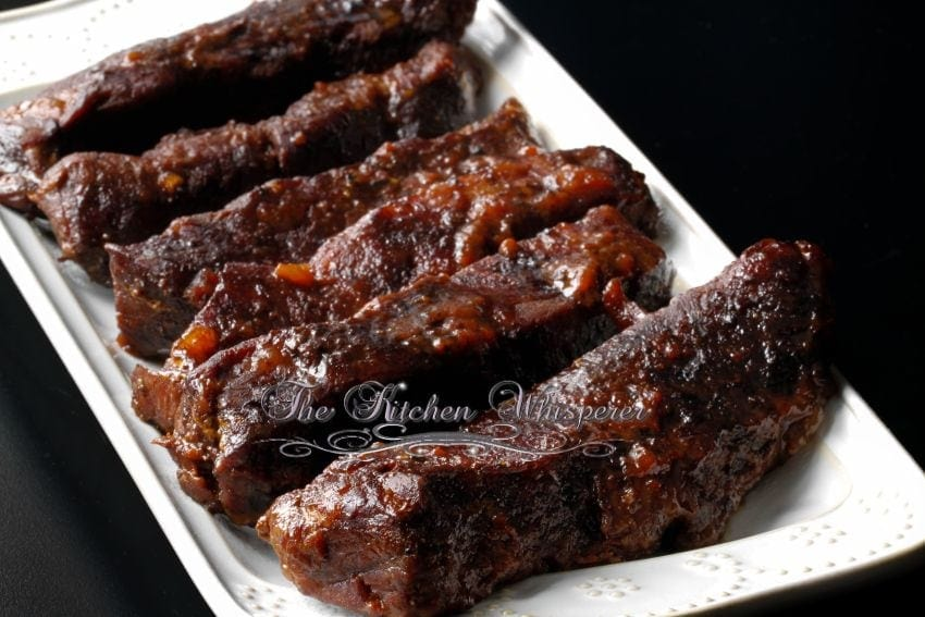 Slow Baked BBQ Boneless Beef ShortRibs3