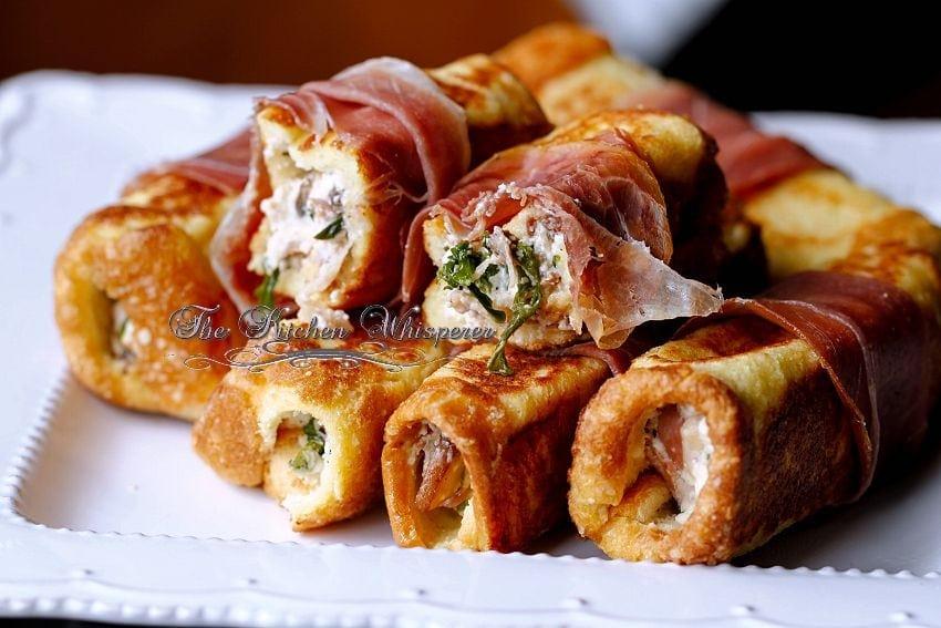 Savory Ricotta Mushroom Pancetta stuffed French Toast1