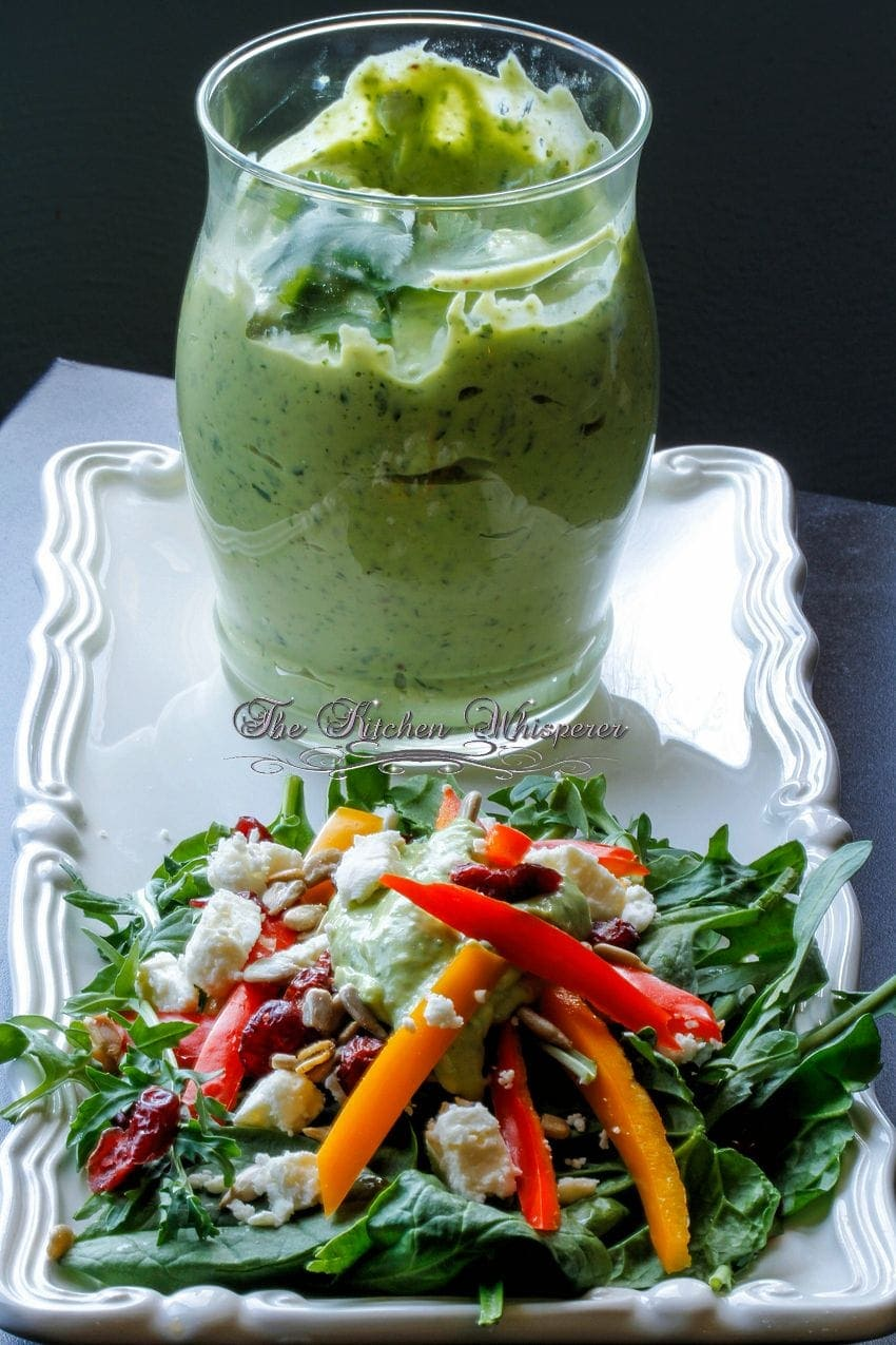 Creamy Avocado Lime Dressing1