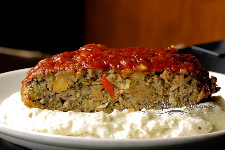 Ultimate Meatless Veggie Meatloaf3