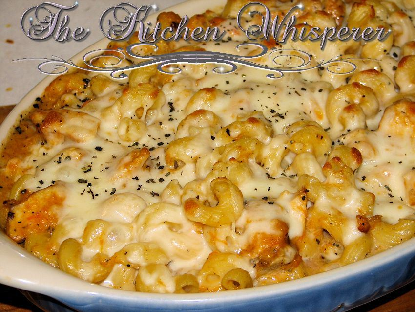 ... You so need to make this Spaghetti Squash in a vegetable mornay sauce