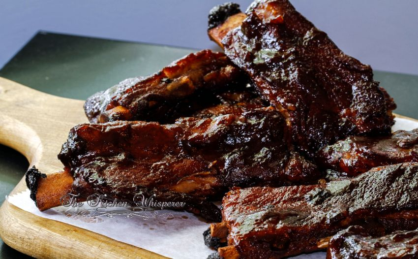 Pressure Cooker Guinness BBQ Sauce Ribs4