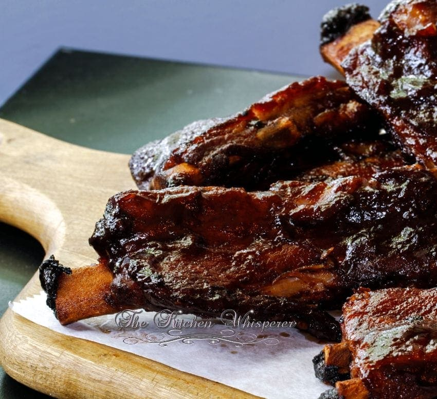 Pressure Cooker Guinness BBQ Sauce Ribs5