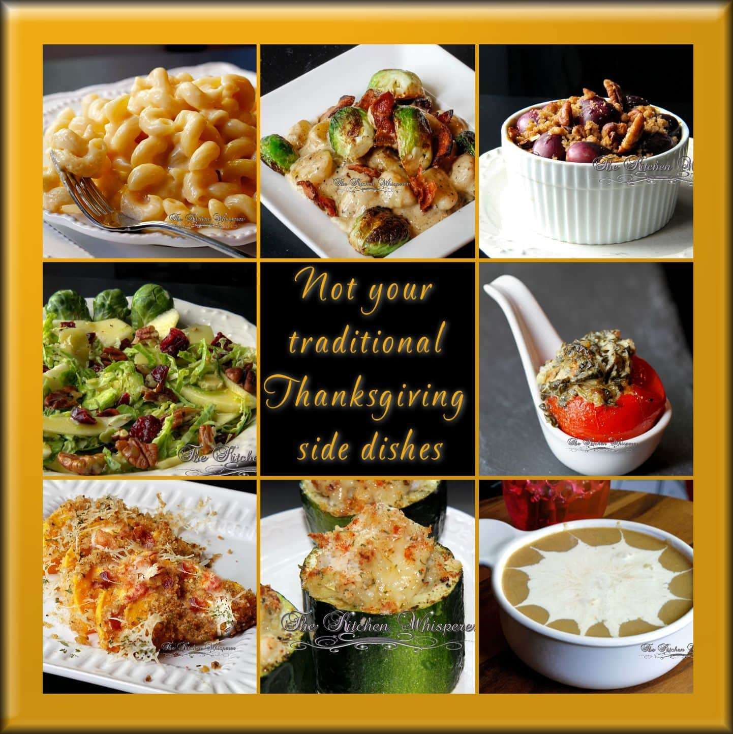Not Your Traditional Thanksgiving Side Dishes