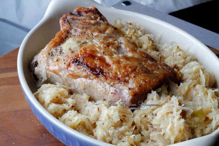 New year pork roast
