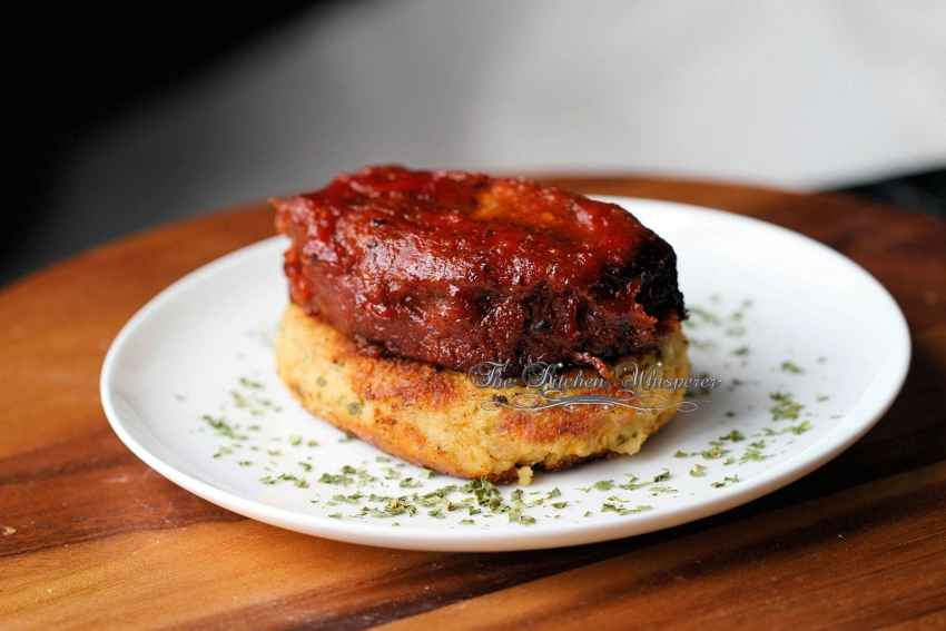 BBQ Meatloaf Stacks8