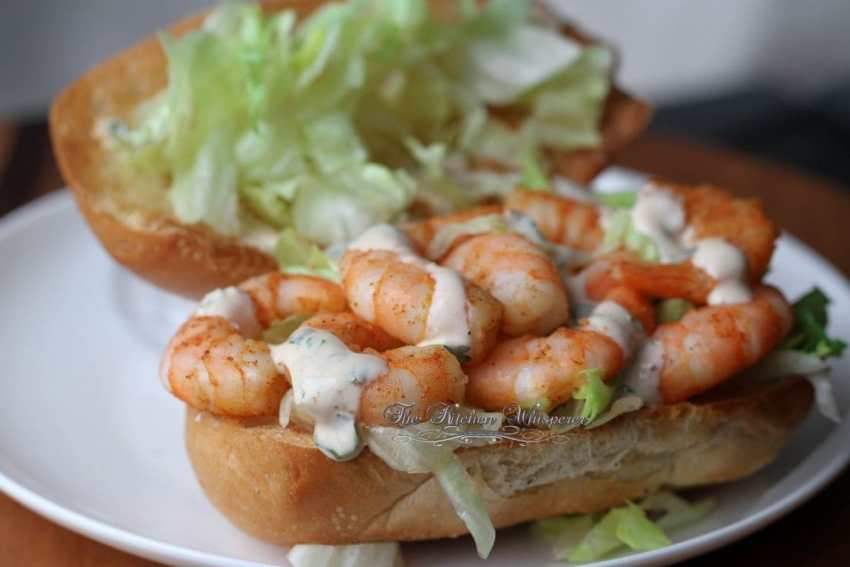 Shrimp Po Boy