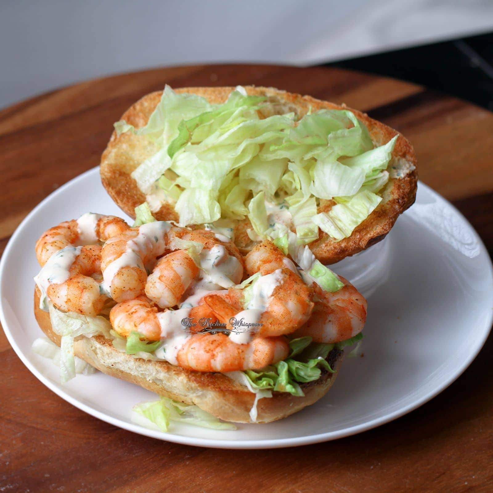 Creole Cajun Shrimp Po'Boy